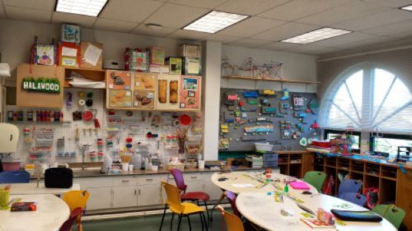 Makerspace classroom